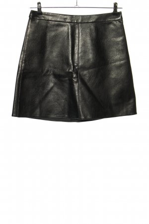 Orsay Kunstlederrock schwarz Casual-Look