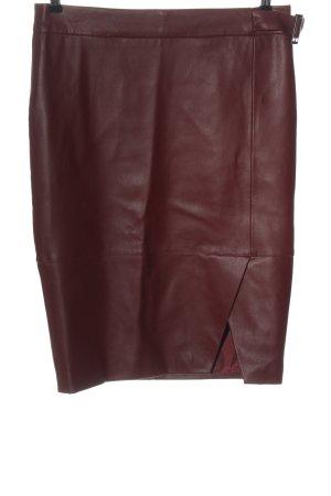 Orsay Spódnica z imitacji skóry brązowy W stylu casual