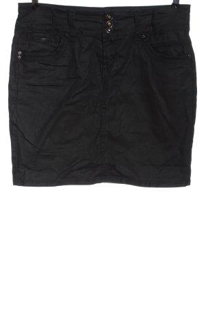 Orsay Jupe en cuir synthétique noir style décontracté
