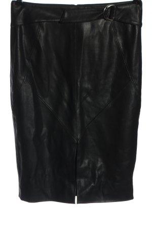 Orsay Rok van imitatieleder zwart casual uitstraling