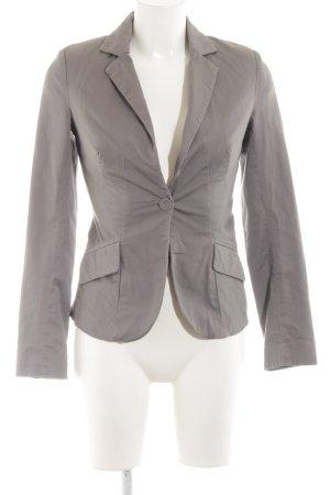 Orsay Kurz-Blazer silberfarben Business-Look