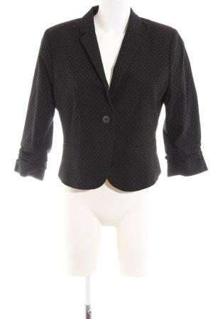Orsay Kurz-Blazer schwarz Punktemuster Elegant