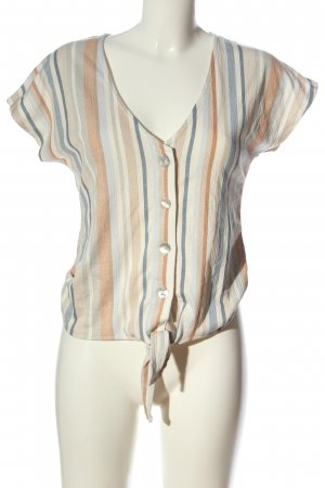 Orsay Short Sleeved Blouse striped pattern casual look