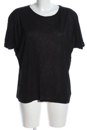 Orsay Kurzarm-Bluse schwarz meliert Casual-Look