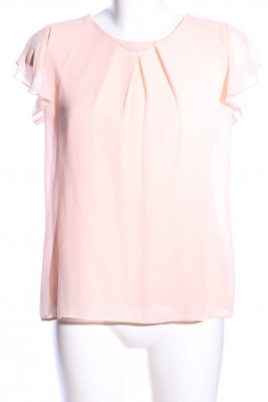 Orsay Kurzarm-Bluse pink Business-Look