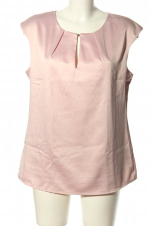Orsay Kurzarm-Bluse lila Business-Look
