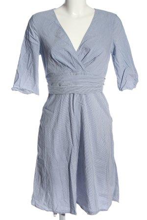 Orsay Kurzarmkleid blau-weiß Allover-Druck Casual-Look