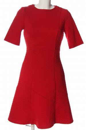Orsay Kurzarmkleid rot grafisches Muster Casual-Look