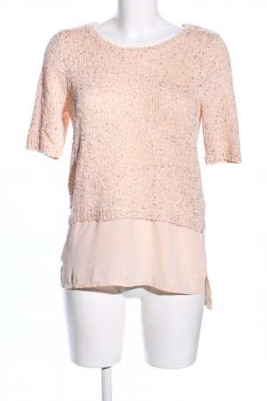 Orsay Short Sleeve Sweater nude business style