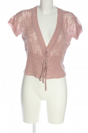 Orsay Kurzarmstrickjacke pink Casual-Look