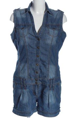 Orsay Kurzer Jumpsuit blau Casual-Look
