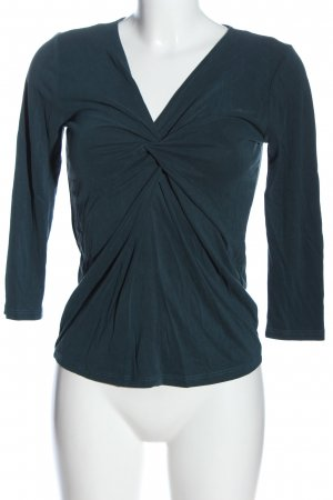 Orsay Langarm-Bluse blau Casual-Look