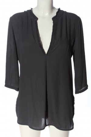 Orsay Langarm-Bluse schwarz Casual-Look
