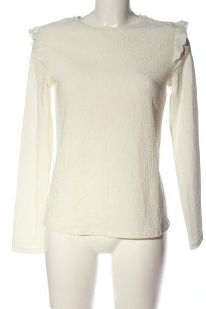 Orsay Langarm-Bluse wollweiß Casual-Look