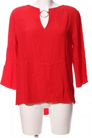 Orsay Langarm-Bluse rot Casual-Look