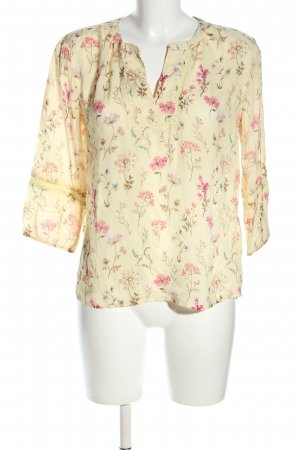 Orsay Langarm-Bluse Allover-Druck Casual-Look