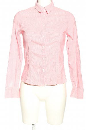 Orsay Langarmhemd rot-weiß Streifenmuster Business-Look