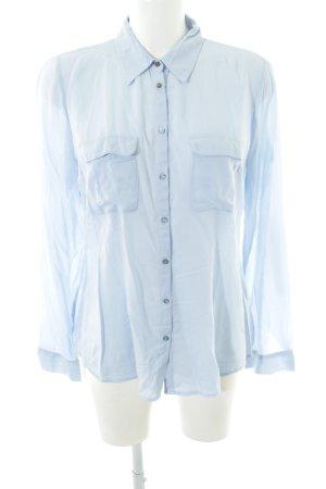 Orsay Langarmhemd blau Business-Look