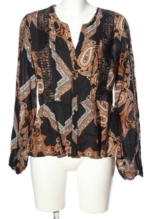 Orsay Langarmhemd abstraktes Muster Casual-Look