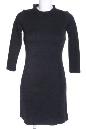 Orsay Jurk met lange mouwen zwart zakelijke stijl