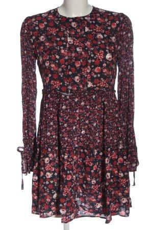 Orsay Longsleeve Dress red-black allover print casual look