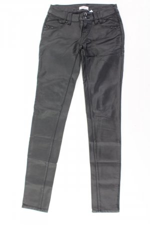 Orsay Lederhose Größe 34 schwarz aus Viskose
