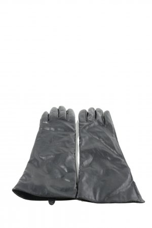 Orsay Rękawiczki z imitacji skóry czarny W stylu casual