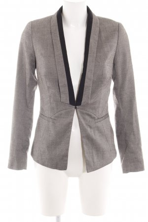 Orsay Long-Blazer hellgrau-schwarz meliert Business-Look