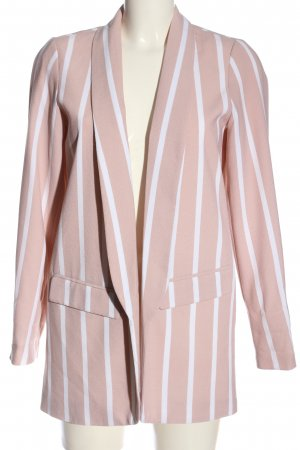 Orsay Long-Blazer pink-weiß Allover-Druck Business-Look