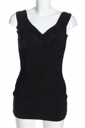 Orsay Long-Bluse schwarz Casual-Look