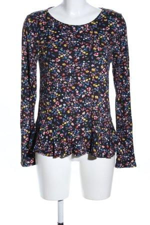 Orsay Longsleeve Blumenmuster Casual-Look