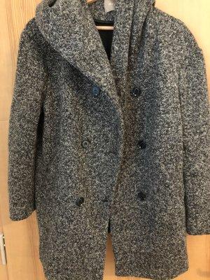 Orsay Cappotto con cappuccio grigio scuro-antracite