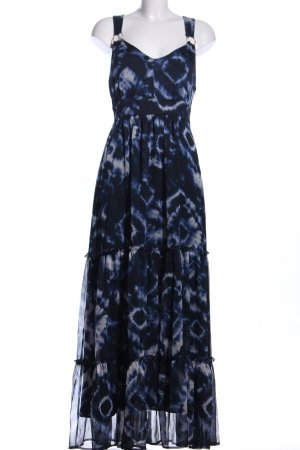 Orsay Maxi abito blu scuro-bianco Poliestere