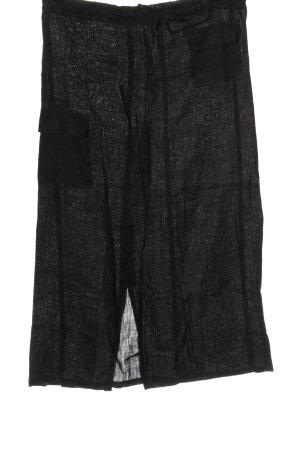 Orsay Lniana spódnica czarny W stylu casual