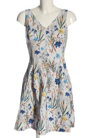 Orsay Minikleid wollweiß-blau Allover-Druck Elegant