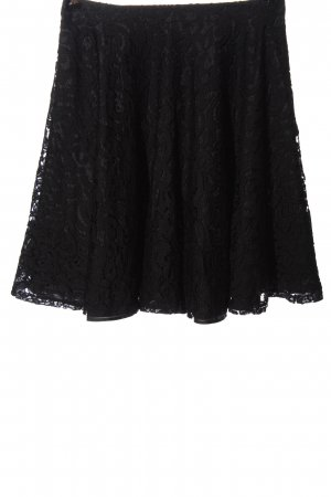 Orsay Lace Skirt black casual look