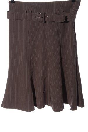 Orsay Spódnica midi brązowy Na całej powierzchni Elegancki