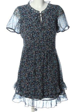 Orsay Minikleid Allover-Druck Casual-Look