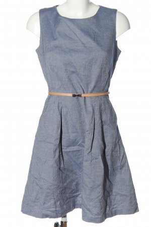Orsay Minikleid blau grafisches Muster Casual-Look