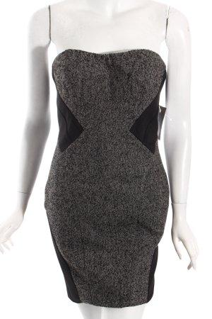 Orsay Minikleid schwarz-grau Party-Look