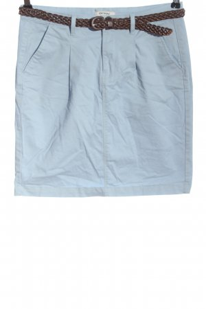 Orsay Mini rok blauw-bruin casual uitstraling