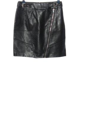 Orsay Mini rok zwart casual uitstraling