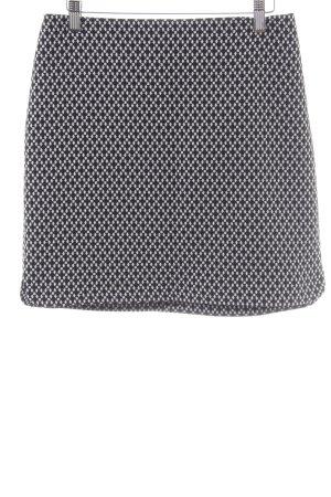 Orsay Mini rok zwart-wit grafisch patroon casual uitstraling