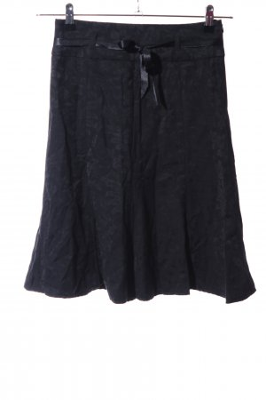 Orsay Mini rok zwart abstract patroon casual uitstraling