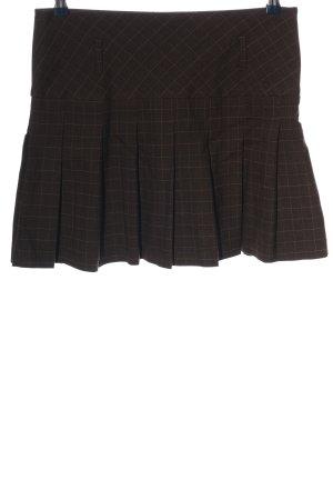 Orsay Mini rok bruin-wolwit volledige print casual uitstraling