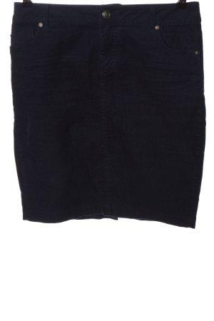 Orsay Mini rok blauw gestreept patroon casual uitstraling