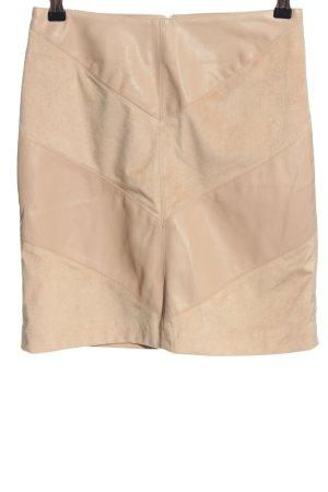 Orsay Minirock nude Streifenmuster Casual-Look
