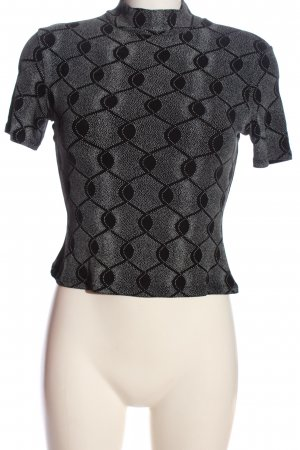 Orsay Cropped Shirt black-white allover print casual look