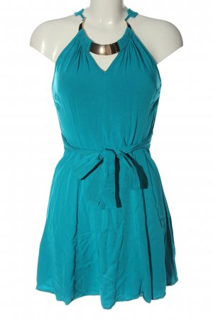 Orsay Neckholderkleid blau Casual-Look