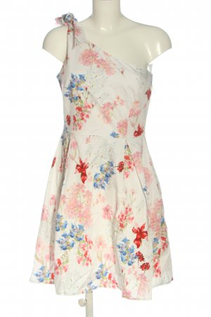 Orsay One Shoulder Dress allover print casual look